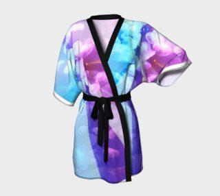 Aperçu de Blue Daisy Kimono