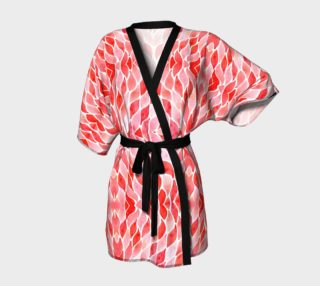 Red plumes robe preview