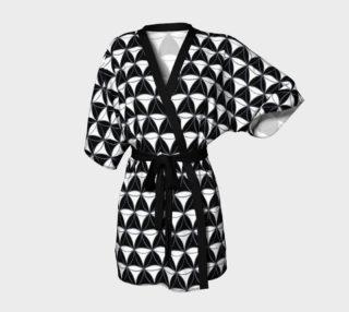 Aperçu de Diamond Pattern White-Black