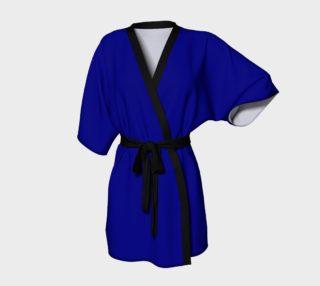 Navy Blue Kimono Robe preview