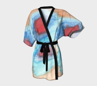 Flowers of Another Kind Kimono preview