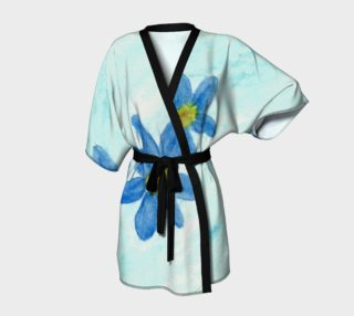 Simply Blue Flowers Kimono preview