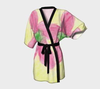 Pink Flower Blossom Kimono preview