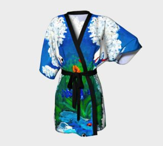 kimono - poodle c'est moi painting by Broussalian preview