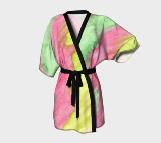 Floral Stained Glass Kimono preview