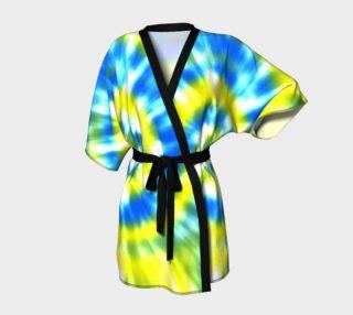 Tie Dye 6 Aqua, Yellow preview