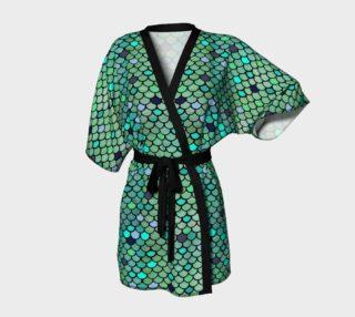 Women's Mermaid Kimono Robe preview