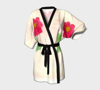 Red Daisy Kimono preview