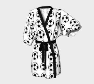 Aperçu de Soccer Balls - Black and White