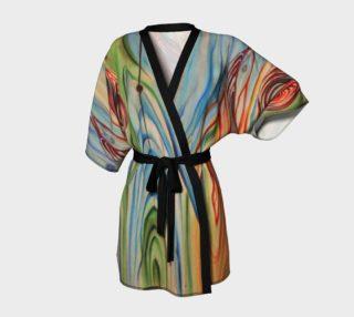 Aperçu de Wood Grain Dressing Robe