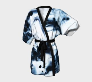Aperçu de Ink Detail Kimono Robe