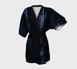 Modern Blue Mens Robe preview