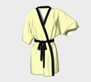Polka Dots Pattern-Yellow Kimono Robe preview