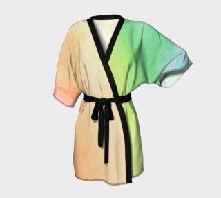 Rainbow kimono preview