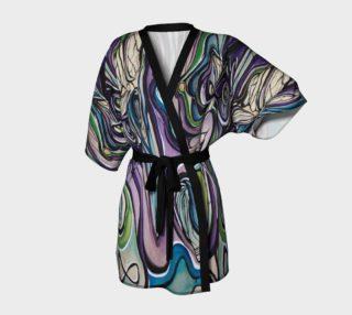 Aperçu de Purple Flow Dressing Robe