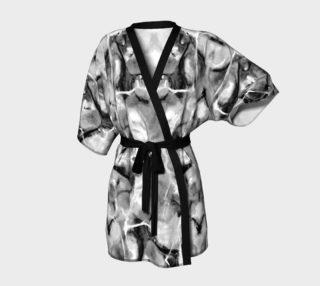 Gray Marble Kimono Robe preview