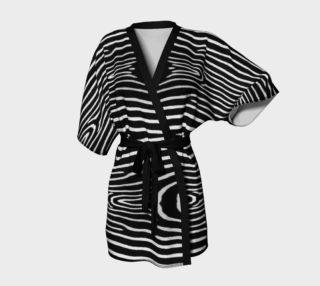 Zebra Kimono Robe preview