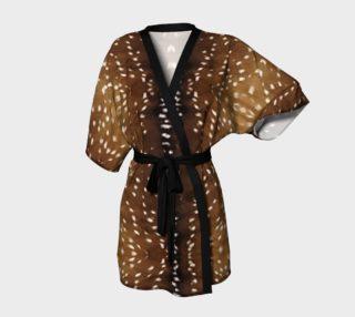 Deer 1 Kimono Robe preview