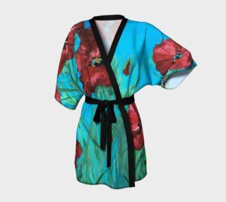 Aperçu de Linda's Poppies Kimono