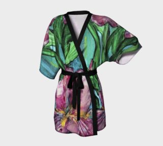 Aperçu de Pink Iris Kimono