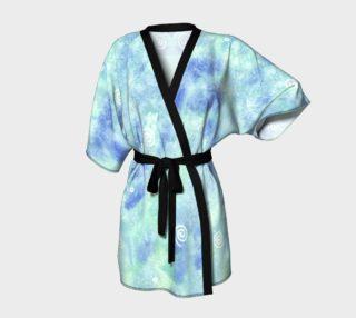 Aperçu de Blue lagoon Kimono Robe