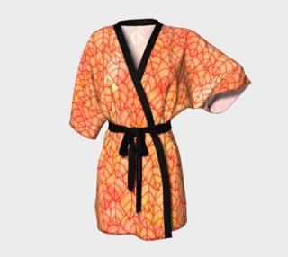 Autumn foliage Kimono Robe preview