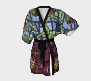 Peony Burgundy Kimono preview
