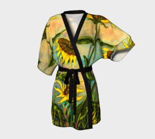 Sunflowers Kimono preview