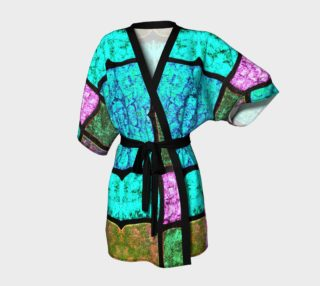 Nostalgia Stained Glass Kimono Robe preview