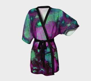 Fantasy Orchid kimono preview