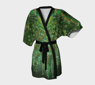 Peacock Wheel Kimono preview