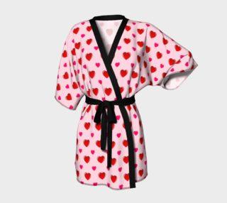 Valentine's Day Kimono Robe preview
