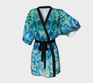 Blue Swirl Kimono preview