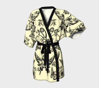 BKC Black Butterfly Kimono Robe preview