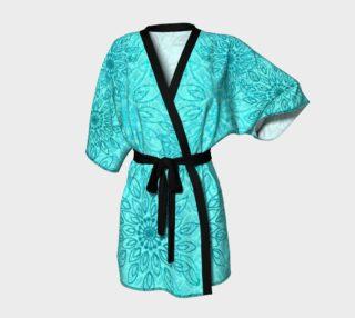 Umsted Design Boho Gypsy Flower Kimono Robe preview