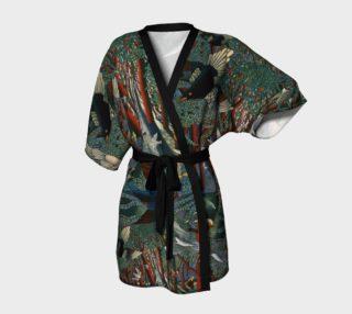 Forest Journey kimono robe preview