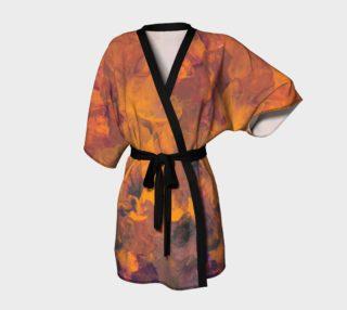 Sunset Flowers Kimono preview