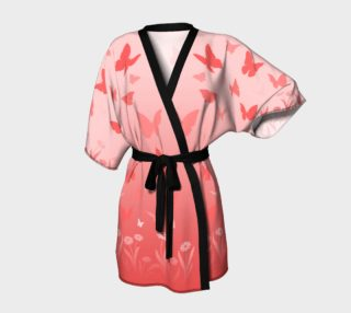 Pink Butterfly Kimono Roobesbes  preview