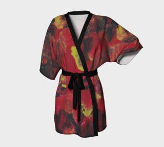 Midnight Blooms Kimono preview