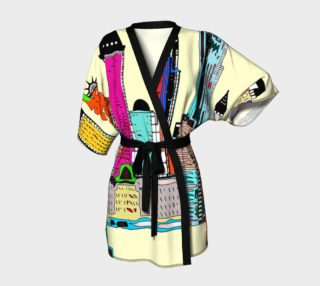 Aperçu de New York - The Big City Kimono Robe