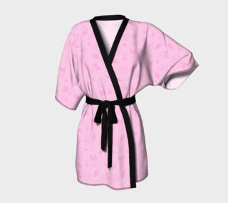 Cartoon Rose Kimono Robe preview