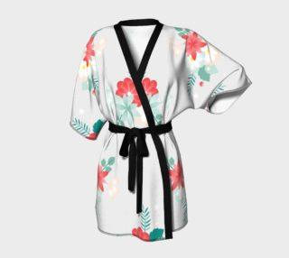 Floral Wrap Robe preview
