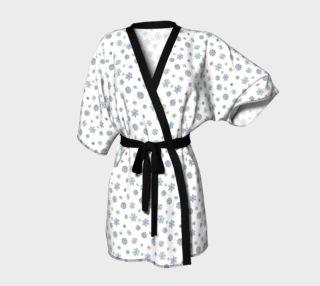 Snowflakes Kimono Robe preview