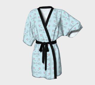 Pretty Kitty Kimono Robe preview