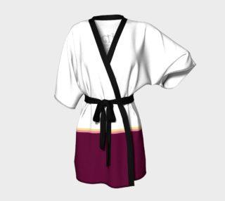 Wine is Always a Good Idea Kimono Robe preview