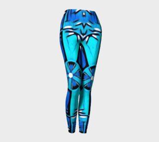 Blue Cosplay Cartoon Geek leggings preview