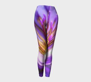 Purple Flower 2 Leggings preview