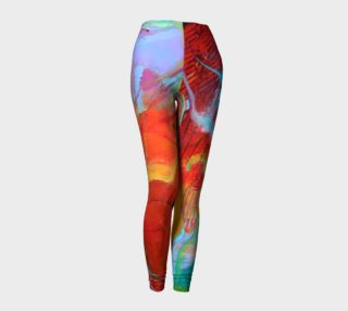 "Aperçu de ""Fire"" leggings"