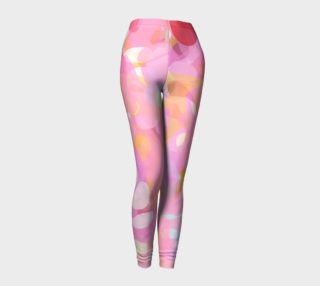Abstract Garden Leggings preview