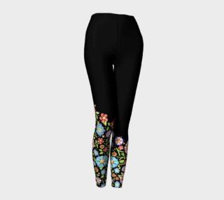 Aperçu de Millefiori Floral Placement Ankle Legs